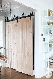 barn closet doors elegant bypass barn doors for closets door world barn closet doors diy