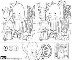 Disegni Di Giochi Di Differenze Con Pypus Facile Da Colorare E