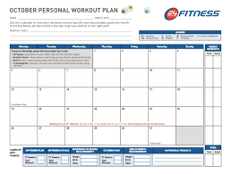 Professional Schedule Template Professional Workout Template Format Excel Word And Pdf
