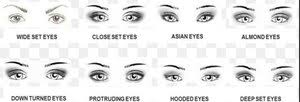 eye shape chart is there an eyeshadow chart for applying eyeshadow for different eye