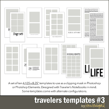 Notebook Templates Travelers Templates 3