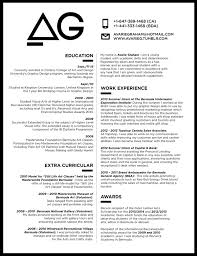 Great monotone resume design with a centre pulling two column look!  Creative Resume Design,