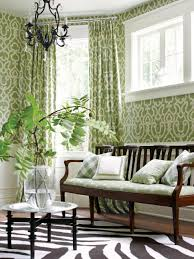 Wallpaper Decorating Living Room Steal This Look Budget Savvy Living Room Fixes Hgtv