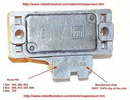gm map sensor identification information bar bar bar