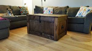 Steamer Trunk Furniture Buy A Handmade Barnwood Trunks Chests Steamer Trunk Trunk