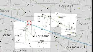 Trappist 1 Location Constellation Map Constellations