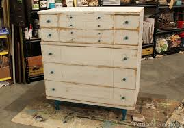 nautical chest painte makeover before after nautical furniture decor