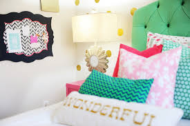 Tween Girl Bedroom Preppy Design Decor Ideas Pink Navy Green