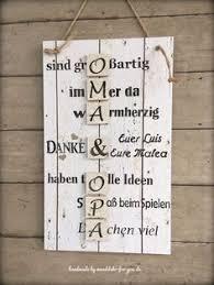Für Oma Opa Vintage Spruchtextschild Sprüche Holzschilder