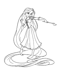 This story is based on the fairy tale rapunzel. Tangled For Kids Tangled Kids Coloring Pages