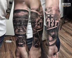 Lionel messi is one of the best players at barcelona. Tattoo Fcb Barcelona Tattoo Football Tattoo Tattoos