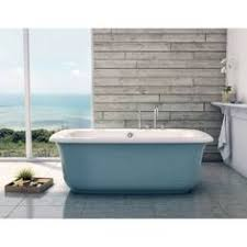 Check Out The Maax 105756 000 024 Miles Freestanding Bathtub With Glacier  Blue Apron