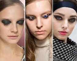 fall winter 2016 2016 makeup trends graphic eye makeup makeup trends beauty