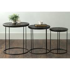 coffee table amazing round marble nesting tables glass stacking within end ideas stackable g