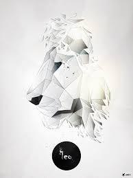 Leo By Pawel Durczok In Showcase Of Creative Polygonal Artworks