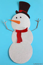 Template Of A Snowman Snowman Template Free Printable Crafts Unleashed