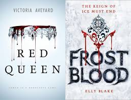 i m gonna leave you with the parison image again and an invitation to consider how much more graceful the blood drips are on red queen s cover