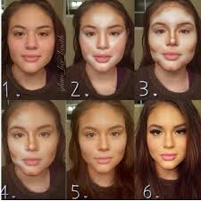 how to make dark skin lighter with makeup contouring is the new photo