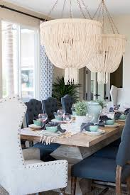 dining room lighting dining room lighting made goods carmen chandelier coco beads are