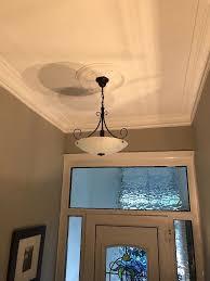 2 x marks spencer pendant ceiling lights