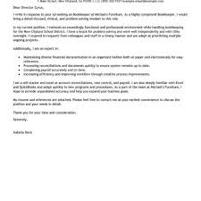 Bookkeeper Cover Letter Bookkeeper Cover Letter Isolutionme 10