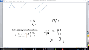 college algebra overview of solving equations part 6
