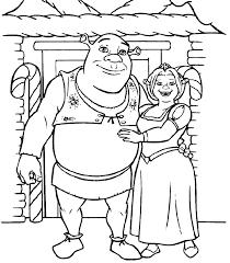 Small Picture Unique Comics Animation top shrek coloring pages