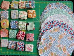 Yoyo Quilt Gets Recycled | Quimper Hittys & Making Squares Adamdwight.com
