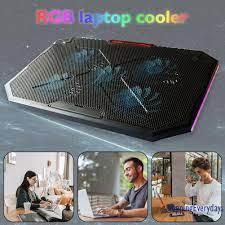 SV Đế Tản Nhiệt Có Đèn Led 5 Màu Cho Laptop - Linh kiện máy tính khác