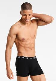 Cristiano Ronaldo CR7 SEASONAL BASIC TRUNK 3 PACK - Panties - black/schwarz  - Zalando.de