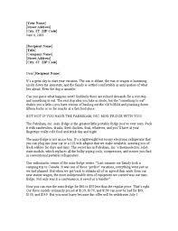 Sample Sales Letter Introduction