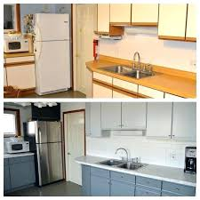 painting laminate cabinets before and after how to refinish laminate cabinets can i paint my kitchen painting painting laminate cabinets black