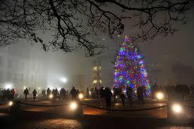 Empire State Plaza Christmas Tree Lighting Photos Christmas Tree Lighting At Empire State Plaza New