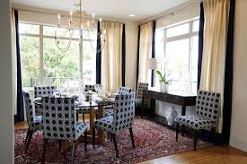 navy blue dining rooms. Brilliant Navy Blue Dining Chairs Transitional Room Sarah Ideas Rooms