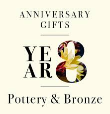 as you inch ever closer to your tenth anniversary the gifts you re giving start to seem a little more permanent from delicate paper and cotton wares in