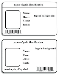 Id Card Templates Free Id Template Free Download Company Id Card Template Employee