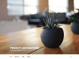 Twenty Seventeen Wordpress Org