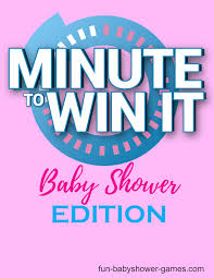 11 Awesome Minute to win it baby shower games