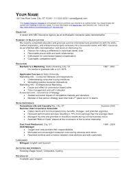 Sample Resume Objectives Fast Food Restaurants Archives