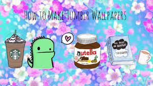 How to Make Tumblr Cute Wallpapers ...