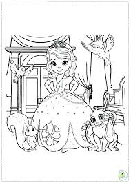Sofia The First Printable Coloring Pages The First Coloring Book