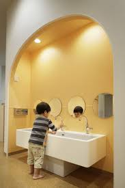 preschool bathroom sink. Familiar Preschool By Igarashi Design StudioInterior Seminar | Interior Bathroom Sink