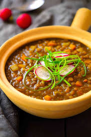 this spanish style vegan lentil stew is easy to make with very simple ings and