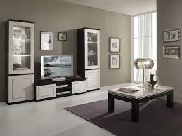 Meuble Tv Design Laqu Blanc Et Noir Darma Meuble Tv Design