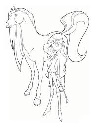 Small Picture Drawing Sarah and Scarlet from Horseland Coloring Pages Batch