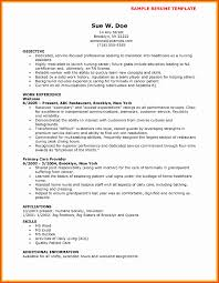 Cna Resume Format New Cna Resume For Hospital Luxury Resume Template