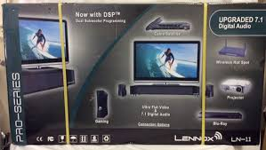 lennox home theater system. lennox ln-11 pro-series 7.1 high definition home theater speakers package system