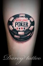 Tattoos Casino Designs Tattoo Games Inspiration Poker Tattoo Poker Chips Tattoo