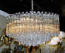 huge oval venini italian triedi crystal prism chandelier at 1stdibs with regard to attractive household glass prism chandelier prepare