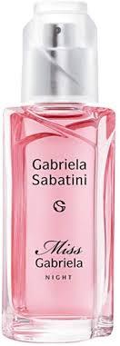 <b>Gabriela Sabatini</b> – <b>Miss</b> Gabriela <b>Night</b> Eau De Toilette 60 ml VP ...